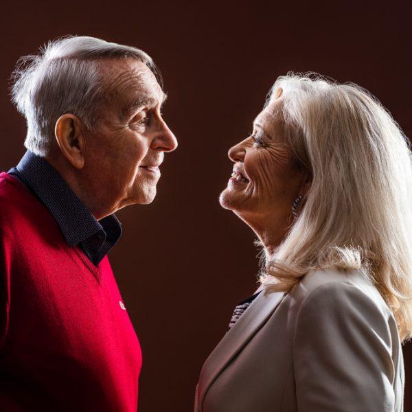 Besondere Paare, besondere Beziehungen, besondere Fotos